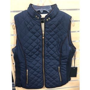 NWT Quilted Puffer Riding Vest
